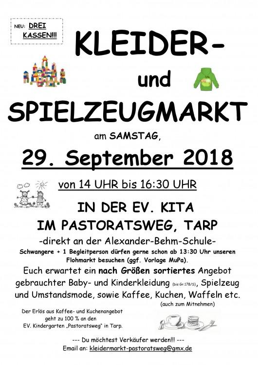 Kleider Und Spielzeugmarkt Flohmarkt Bildungscampus Tarp